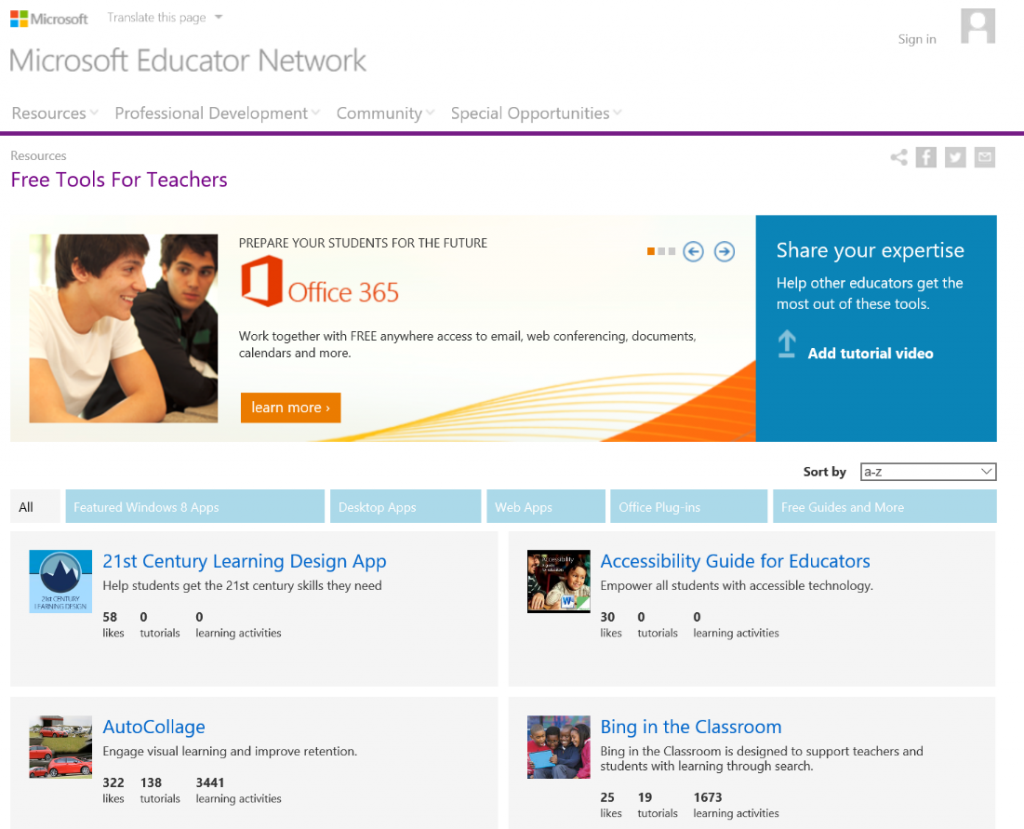 Microsoft Educator Network