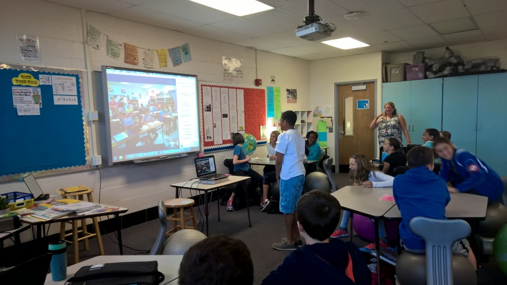Mystery Skype in Action!